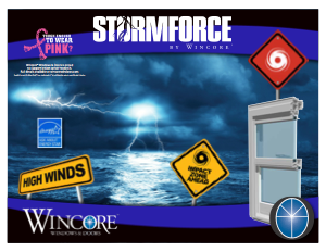 Wincore Stormforce 8800 Impact And Hvhz Windows And Doors